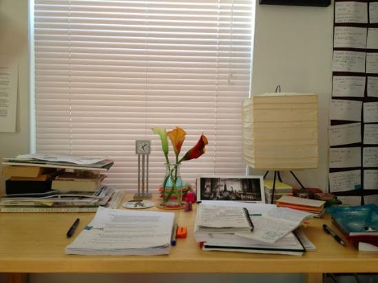 Kristin's workspace